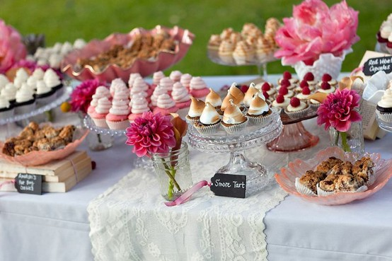 Dessert Buffet (Photo via Sweet and Saucy)