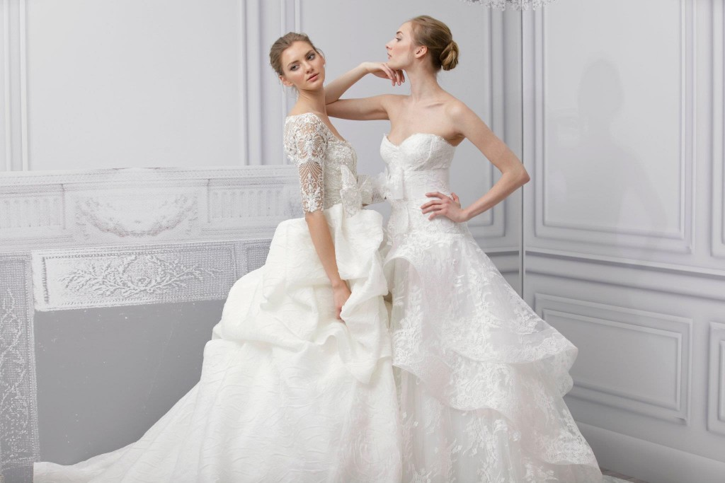 Monique Lhuillier' Spring 2013 Bridal Collection