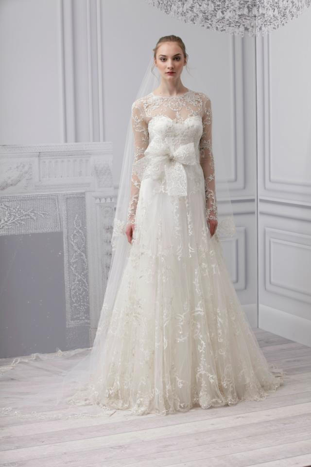 Wedding Philippines - Monique Lhuillier Spring 2013 Bridal Collection (25)