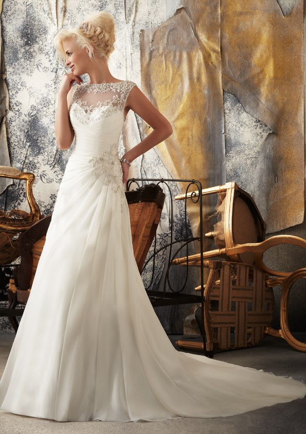 Wedding Philippines - Wedding Gowns- Mori Lee Spring 2013 Collection - 04a